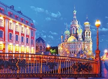 تور روسیه سنت پترزبورگ