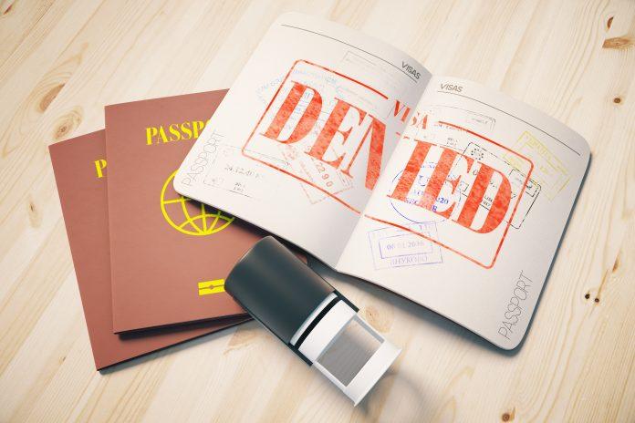 نمونه اعتراض ریجکتی برای ویزا