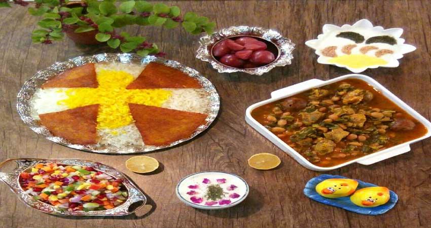 غذاهای مخصوص کردستان