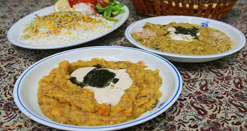 آشنایی با غذاهای کرمان